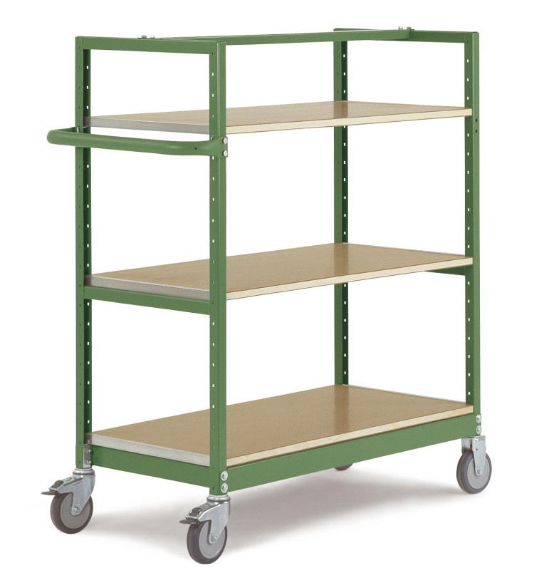 etagenwagen manuflex h henverstellbar resedagr n. Black Bedroom Furniture Sets. Home Design Ideas